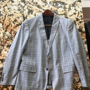 John Varvatos checkered sport coat